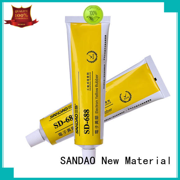SANDAO hot-sale One-component RTV silicone rubber TDS for substrate