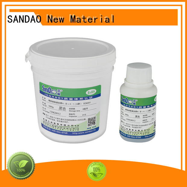 Two-component addition-type potting adhesive TDS epoxy for electroplating