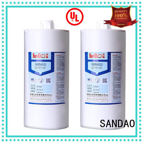 flame One-component RTV silicone rubber TDS supply for substrate SANDAO
