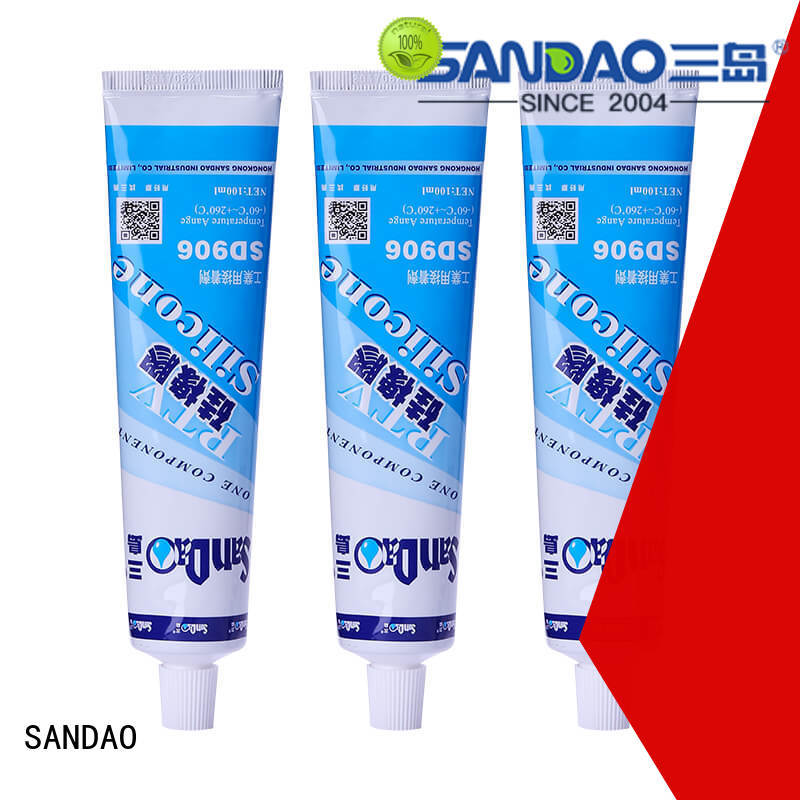 SANDAO one rtv silicone rubber supply for electronic products