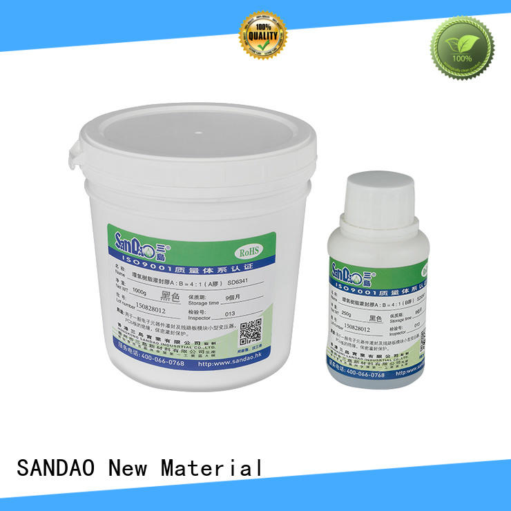 SANDAO resin Two-component addition-type potting adhesive TDS  manufacturer for electronic parts
