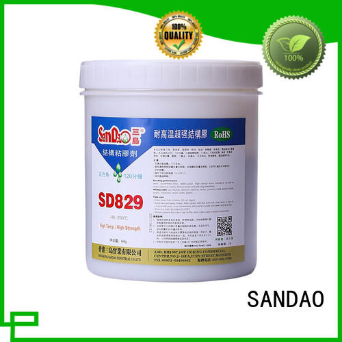 fast epoxy resin adhesive for TV power amplifier tube SANDAO