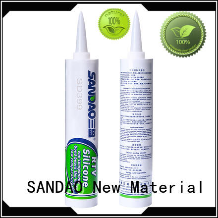 SANDAO environmental One-component RTV silicone rubber TDS certifications for electronic products