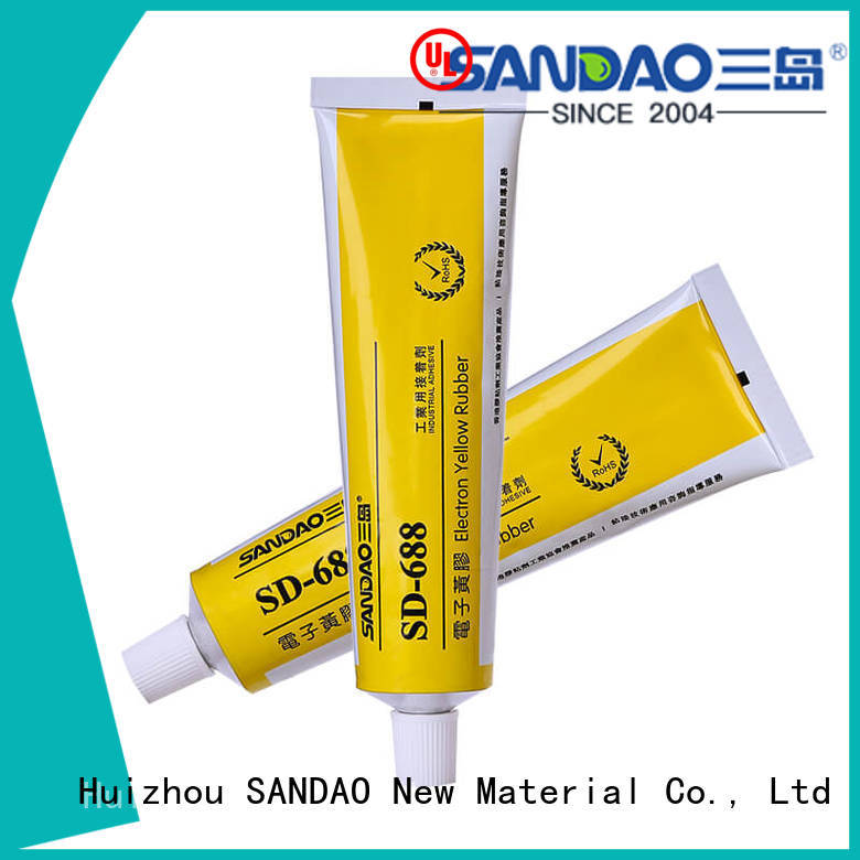 SANDAO yellow rtv silicone rubber for substrate