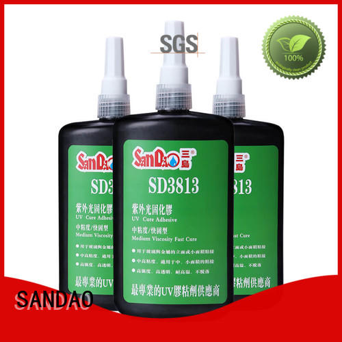 SANDAO nice uv bonding glue free design for electrical products