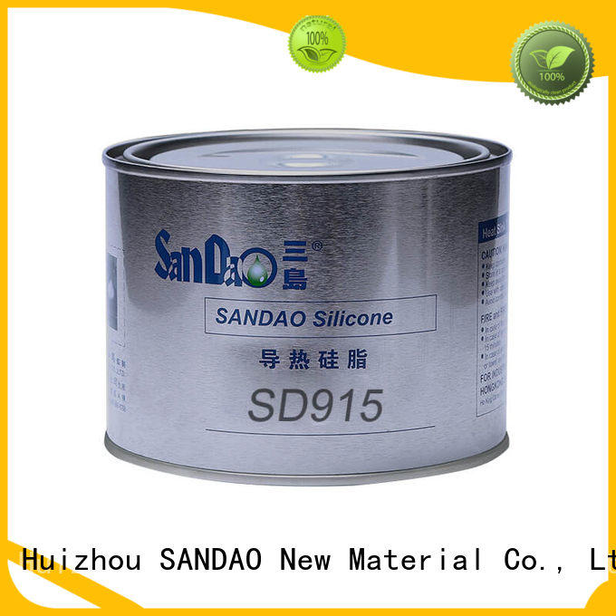 SANDAO silicone Thermal conductive material TDS vendor for oven