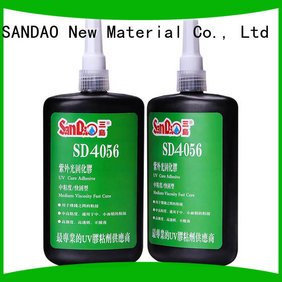 SANDAO resin uv bonding glue at discount for electrical products