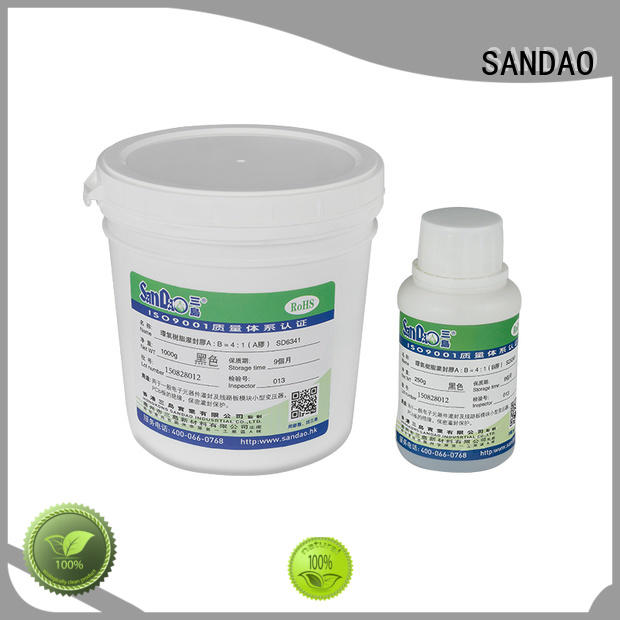 SANDAO resin Two-component addition-type potting adhesive TDS producer for electrical products