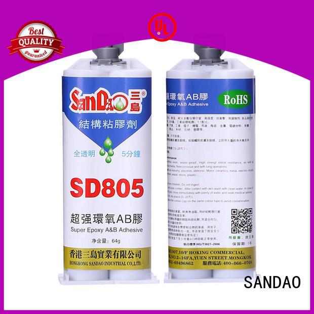 SANDAO comfortable epoxy resin adhesive free quote for screws