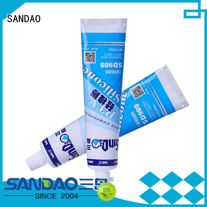 SANDAO special rtv silicone rubber supply for screws