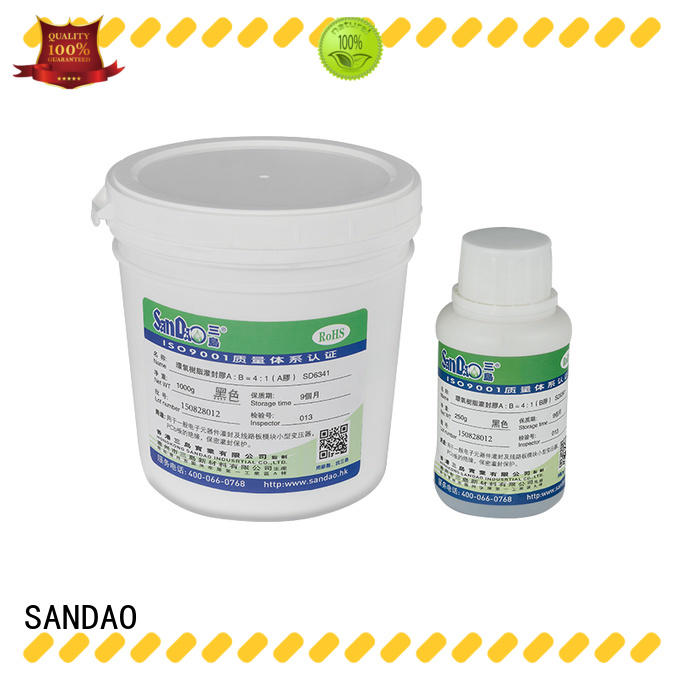 SANDAO adhesive Two-component addition-type potting adhesive TDS vendor for rubber parts