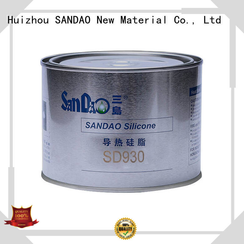 Thermal conductive material TDS silicone bulk production for Semiconductor refrigeration