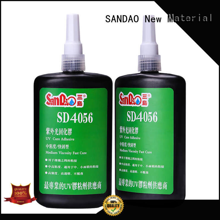 SANDAO curing uv bonding glue from manufacturer for electronic products