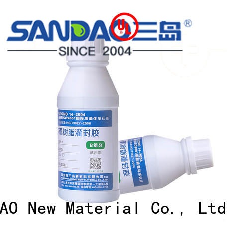 SANDAO organic Two-component addition-type potting adhesive TDS vendor for electroplating