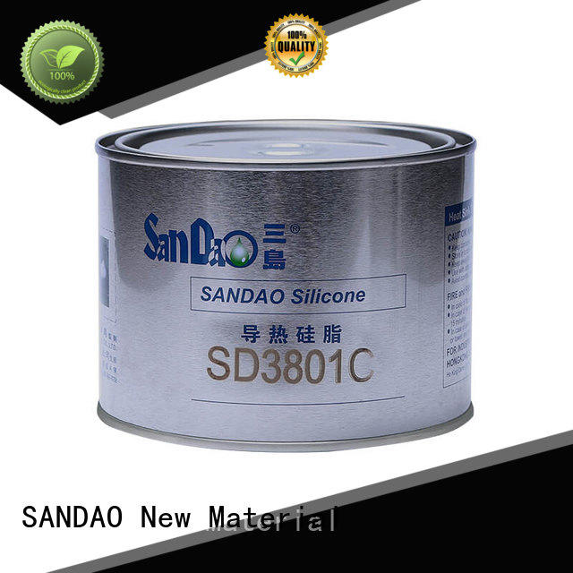 SANDAO retardant rtv silicone rubber producer for substrate