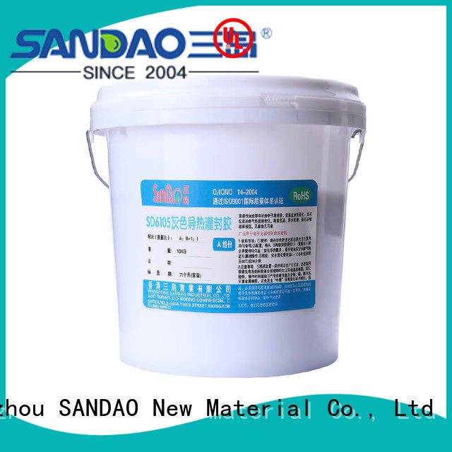 SANDAO environmental  Two-component addition-type potting adhesive TDS supplier for fixing products