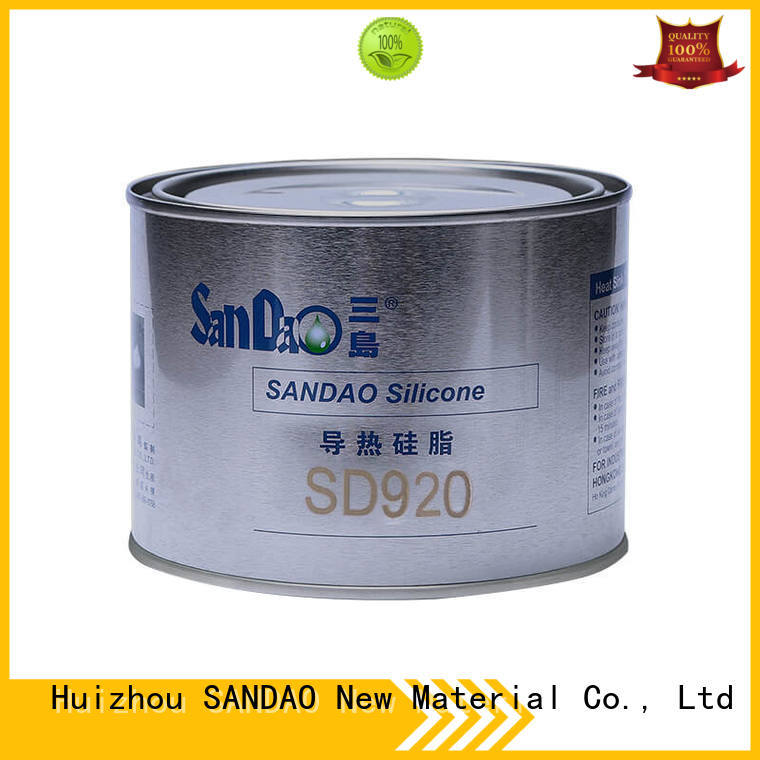 SANDAO quality Thermal conductive material TDS vendor for TV power amplifier tube
