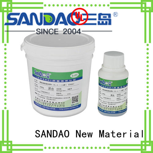 SANDAO durable Two-component addition-type potting adhesive TDS supplier for electrical products