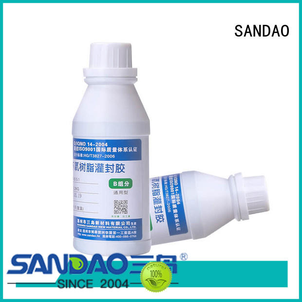 Two-component addition-type potting adhesive TDS twocomponent for glass parts SANDAO