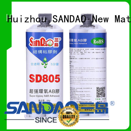 SANDAO inexpensive epoxy resin glue resistant for electronic products