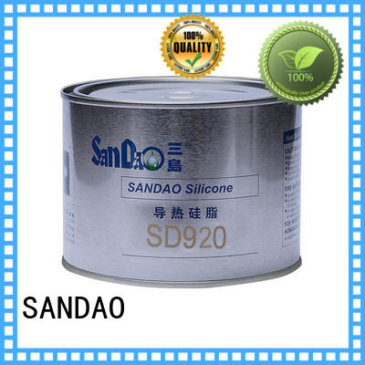 SANDAO fine- quality Thermal conductive material TDS from manufacturer for induction cooker
