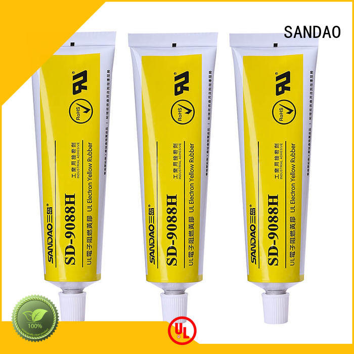SANDAO waterproof what is rtv silicone yellow for electronic products