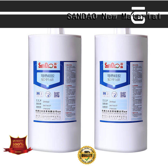 SANDAO new-arrival One-component RTV silicone rubber TDS for converter