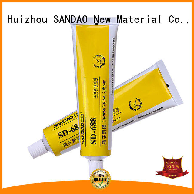 SANDAO high-energy rtv silicone rubber certifications for electronic products