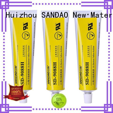 SANDAO conductive rtv silicone rubber wholesale for screws