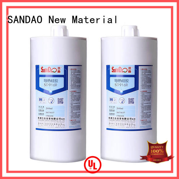 SANDAO printed One-component RTV silicone rubber TDS long-term-use for converter