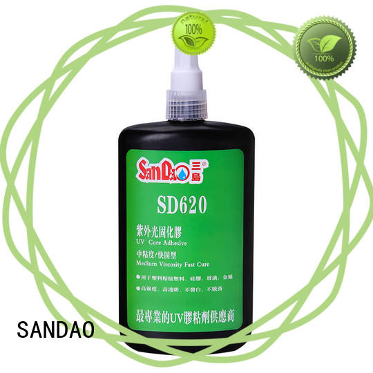 reasonable uv adhesive for glass for wholesale for electronic products SANDAO