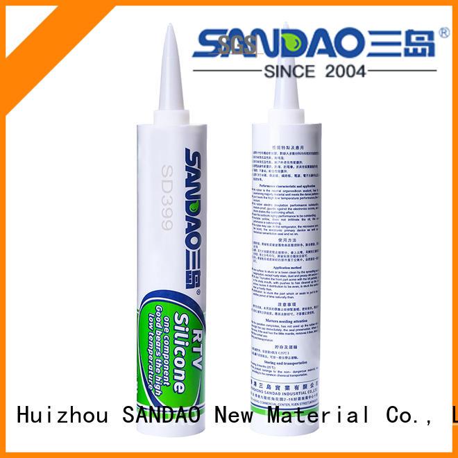 SANDAO solar rtv silicone rubber factory for screws