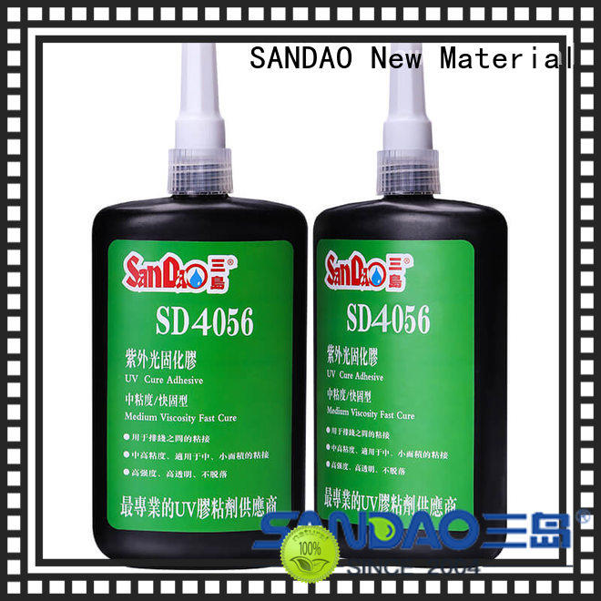 SANDAO glass uv bonding glue factory price for electrical products