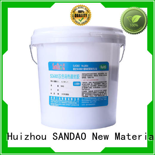 SANDAO awesome Two-component addition-type potting adhesive TDS wholesale for glass parts