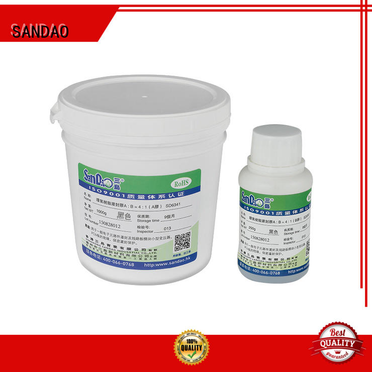 SANDAO heatconductive ge rtv silicone widely-use for metalparts
