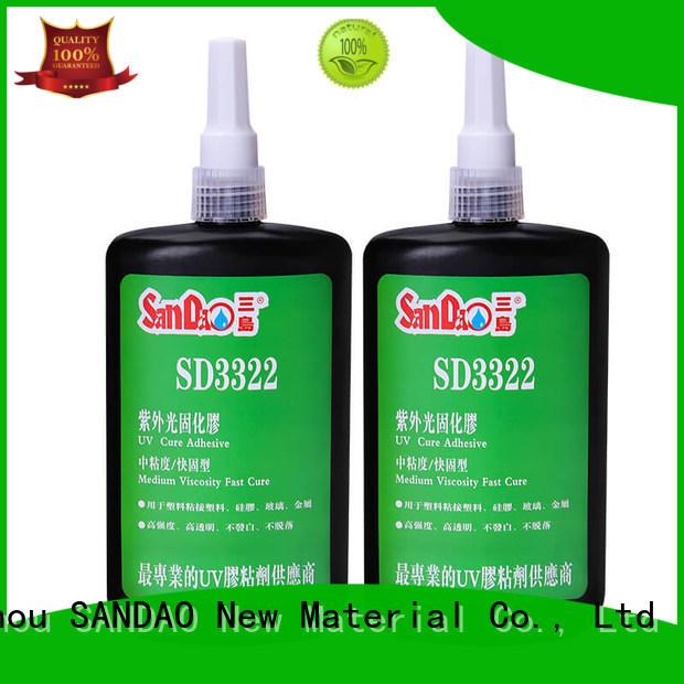 SANDAO best uv bonding glue free design for fixing products