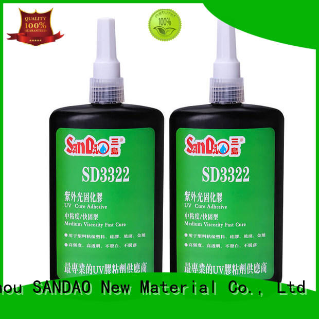 best uv bonding glue glass from manufacturer for electrical products