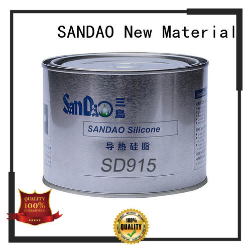 SANDAO useful Thermal conductive material TDS from manufacturer for heat sink