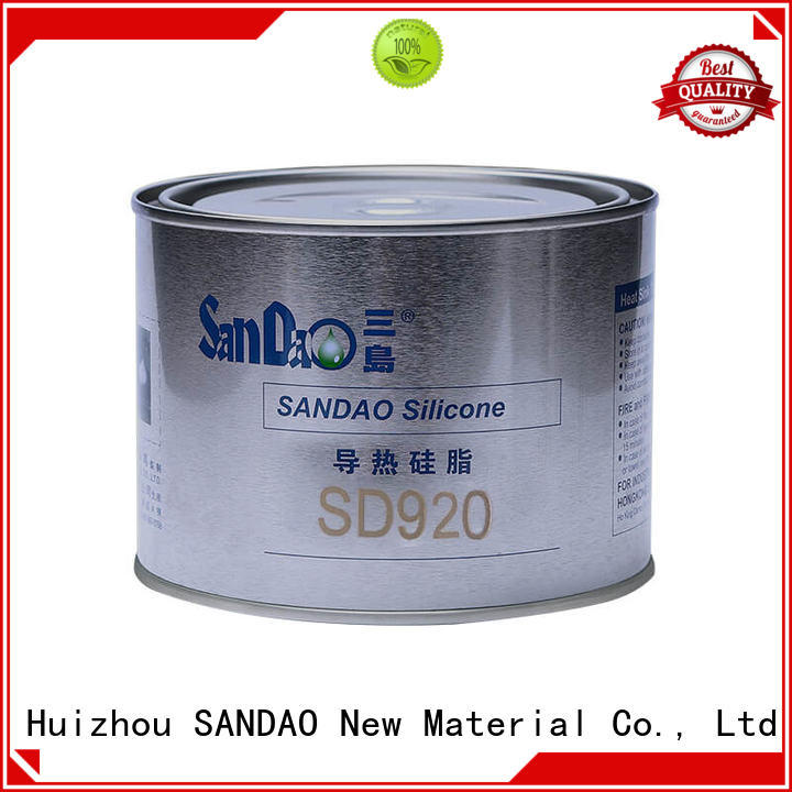 SANDAO grease Thermal conductive material TDS from manufacturer for Semiconductor refrigeration