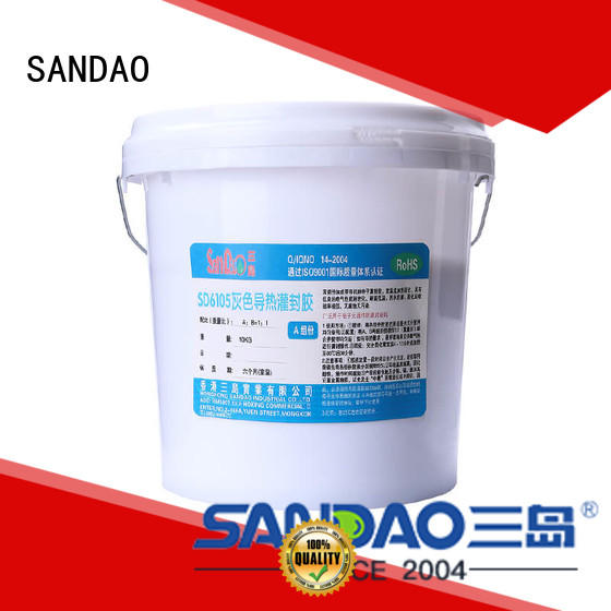 ge rtv silicone organic for electronic parts SANDAO