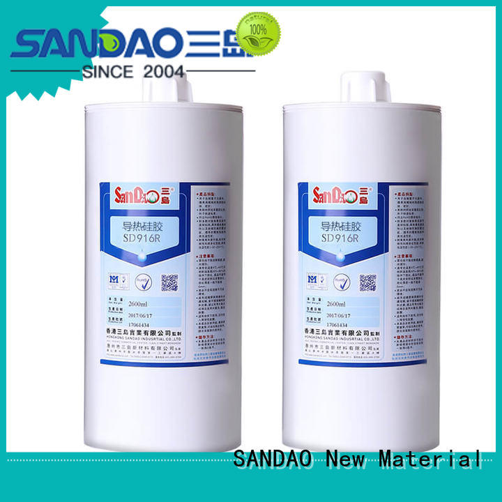 SANDAO hot-sale rtv silicone rubber long-term-use for substrate