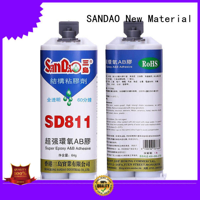 SANDAO fast epoxy adhesive factory price for induction cooker