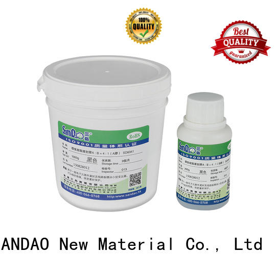 Two-component addition-type potting adhesive TDS epoxy for rubber parts SANDAO