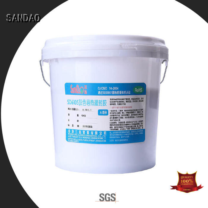 SANDAO useful Two-component addition-type potting adhesive TDS  manufacturer for electronic parts