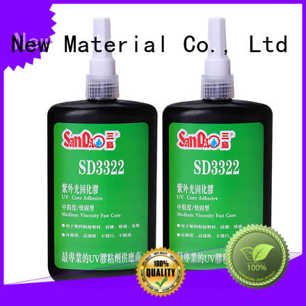 SANDAO glass uv bonding glue from manufacturer for screws