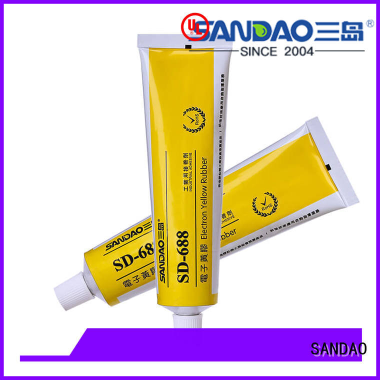 SANDAO heat One-component RTV silicone rubber TDS factory for screws