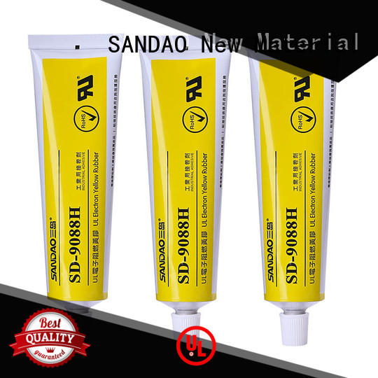 SANDAO environmental One-component RTV silicone rubber TDS in-green for screws
