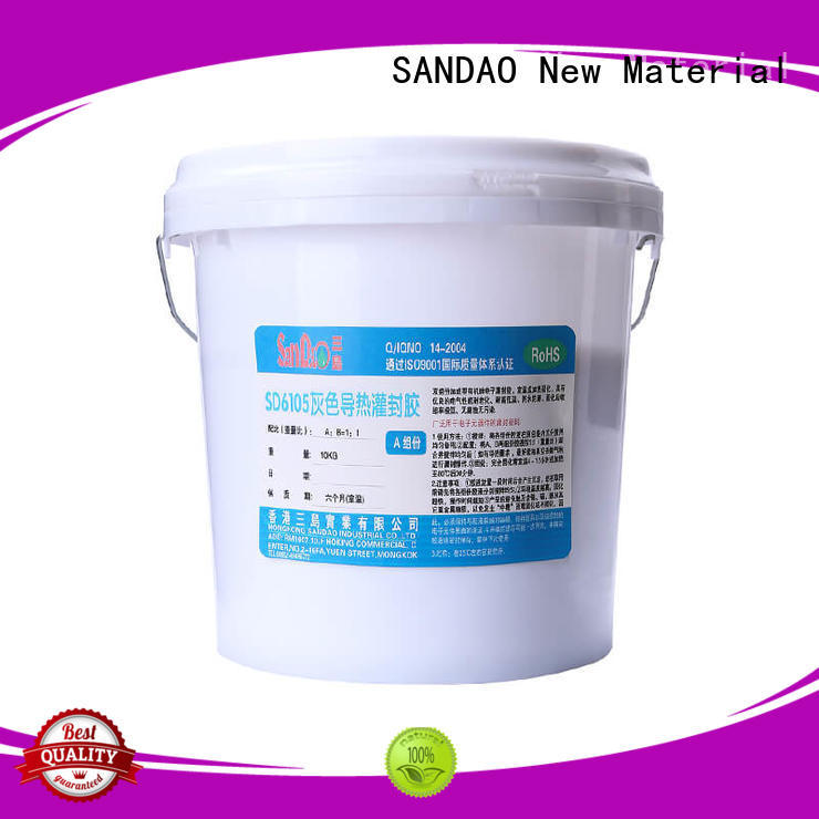 SANDAO organic Two-component addition-type potting adhesive TDS supplier for electroplating