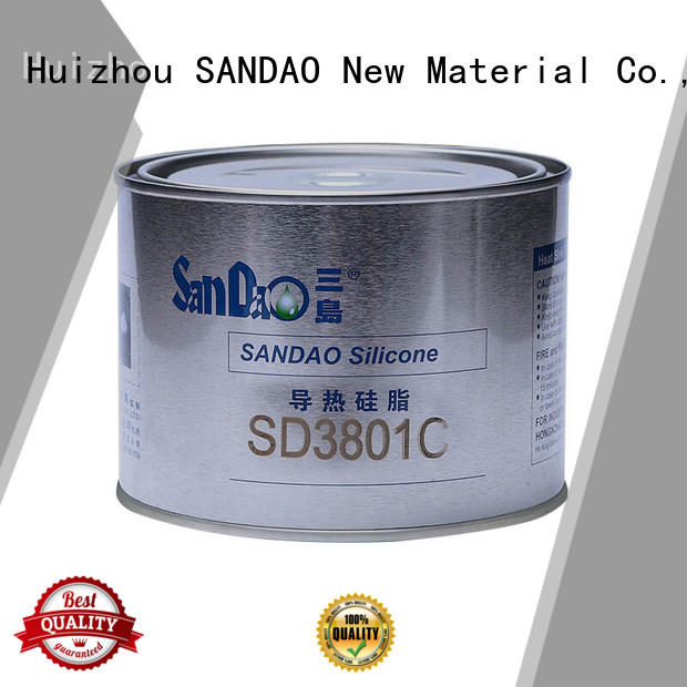 SANDAO waterproof One-component RTV silicone rubber TDS factory for substrate