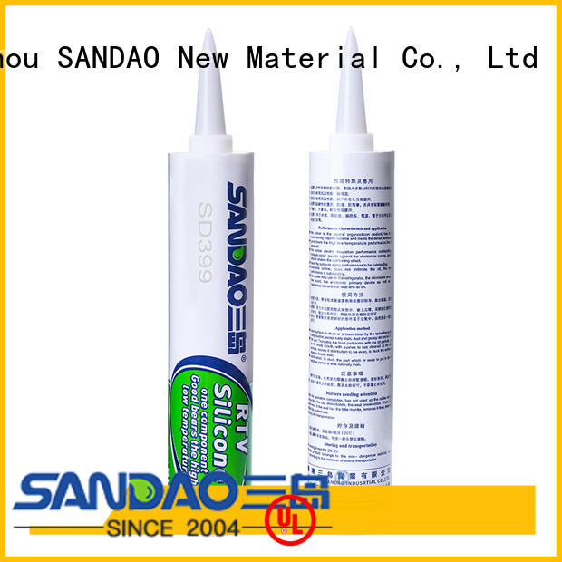 SANDAO newly rtv silicone rubber in-green for substrate